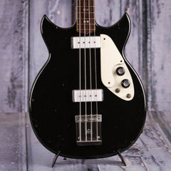 Vintage 1968 Micro-Frets Signature Electric Bass, Black