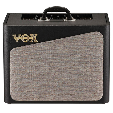 Vox AV15 Analog Modeling Guitar Amplifier, 15w, front