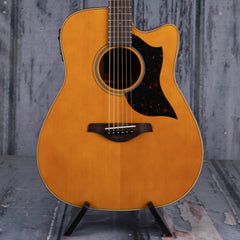 Yamaha A1M Dreadnought Cutaway Acoustic/Electric, Vintage Natural