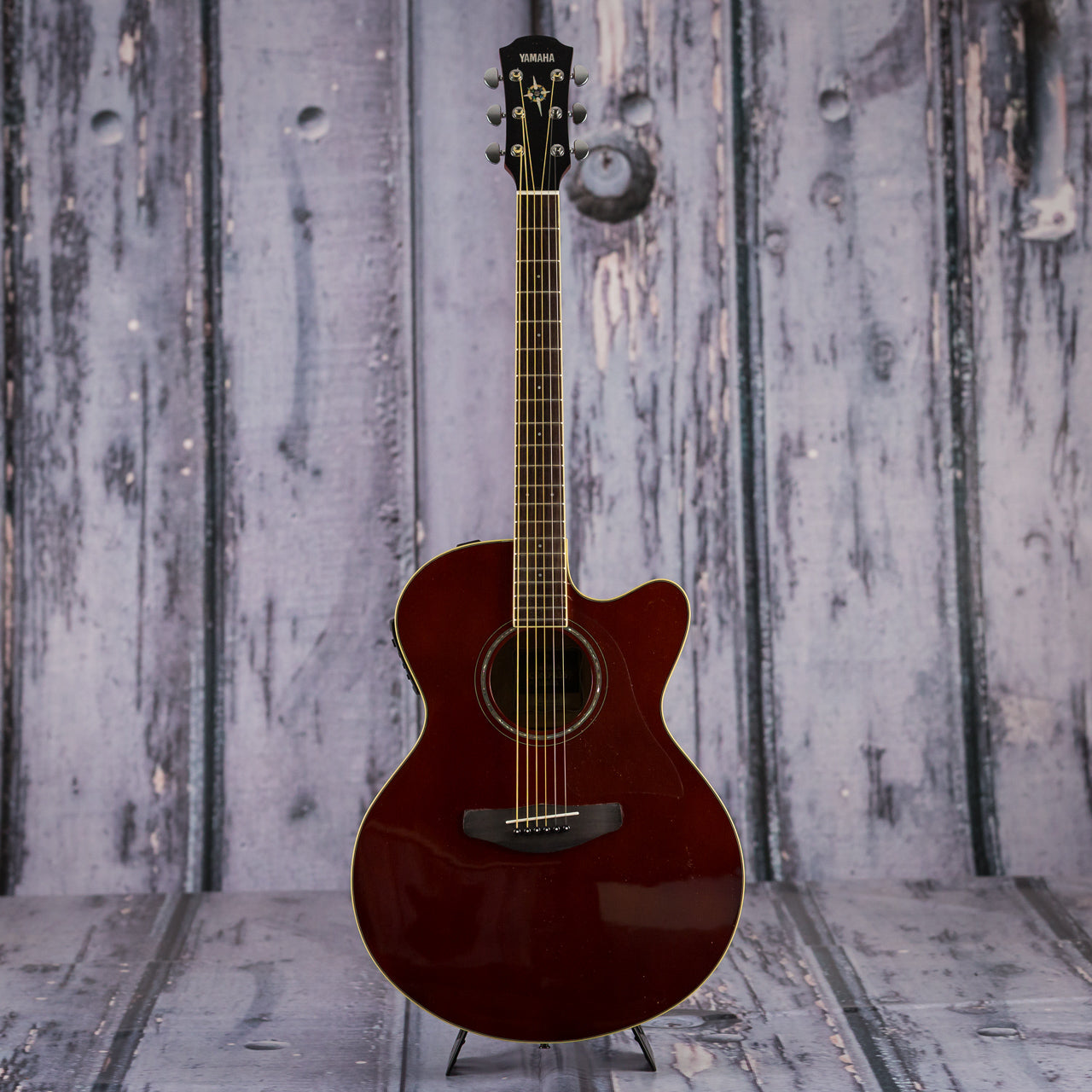 yamaha cpx600 rb acoustic electric guitar root beer red for sale replay guitar. Black Bedroom Furniture Sets. Home Design Ideas