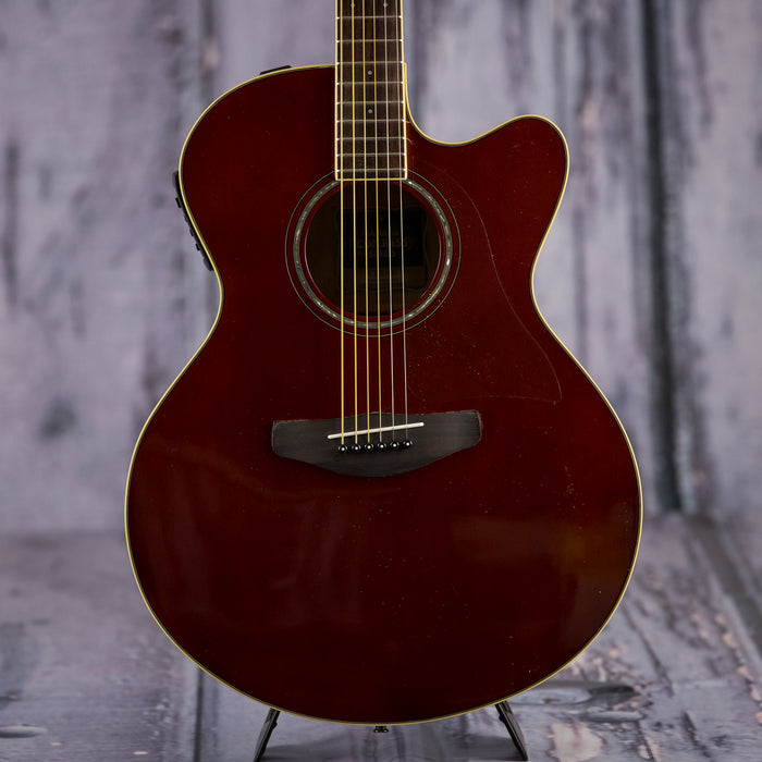 Yamaha CPX600 RB acoustic-electric guitar - root beer red