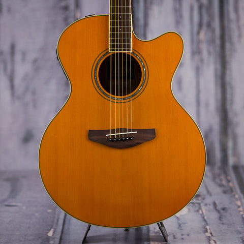 Yamaha CPX600 VT acoustic electric guitar natural vintage tint