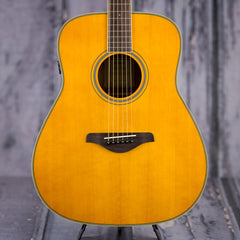 Used Yamaha FG-TA Acoustic Electric Guitar - Vintage Tint