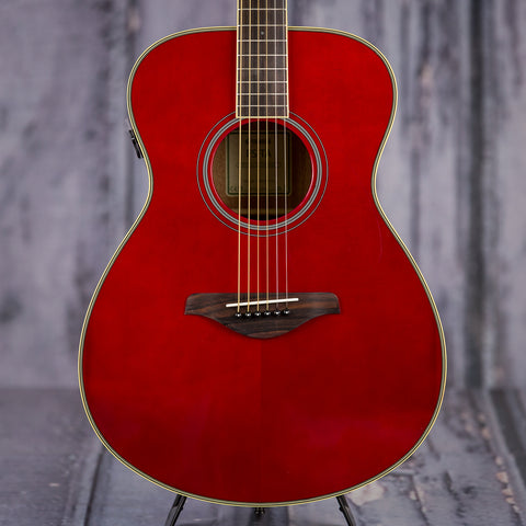 Yamaha FSTA Acoustic Electric Guitar Ruby Red