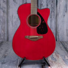 Yamaha FSX800C Concert Cutaway Acoustic/Electric, Ruby Red