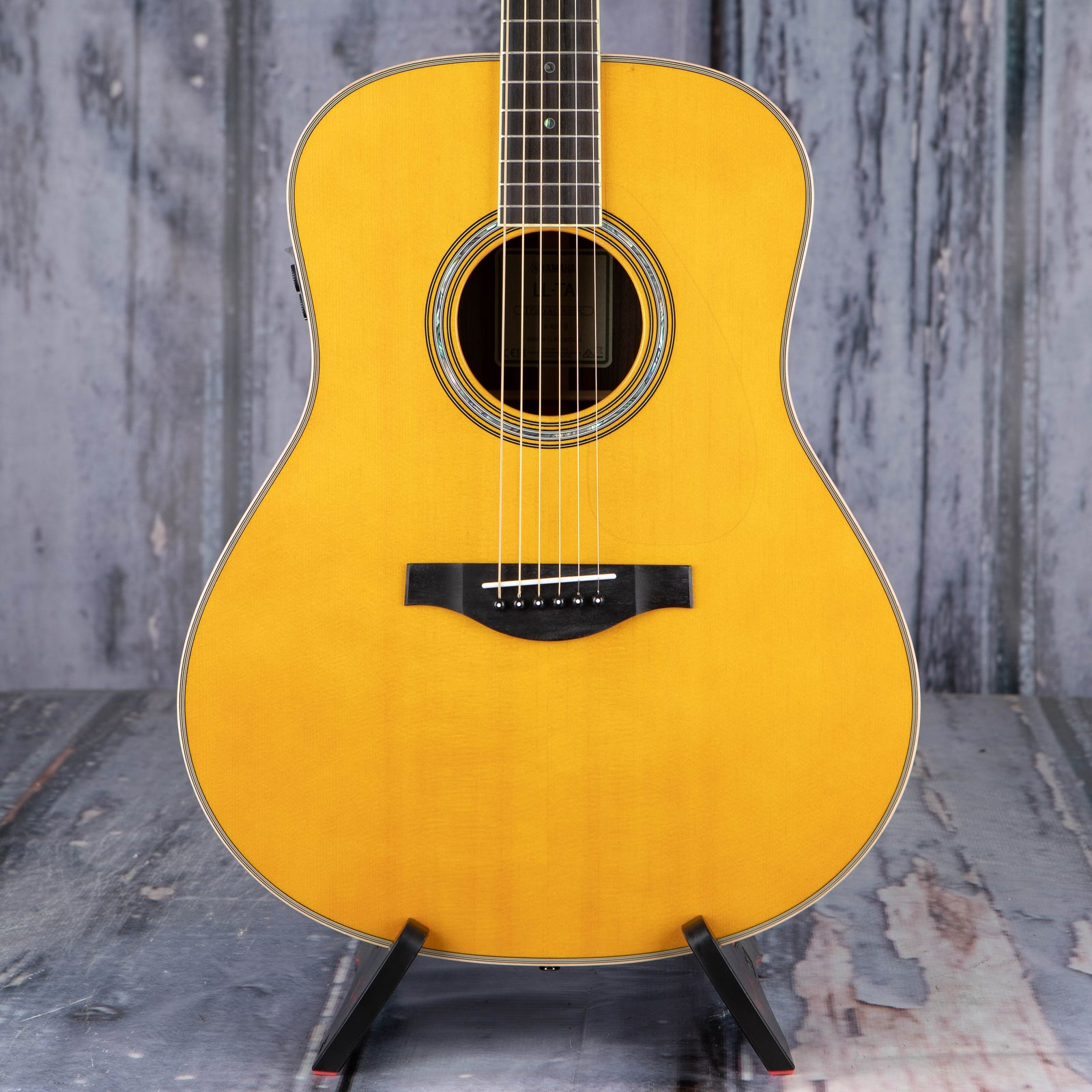 yamaha ll ta transacoustic dreadnought acoustic electric vintage tint for sale replay guitar. Black Bedroom Furniture Sets. Home Design Ideas