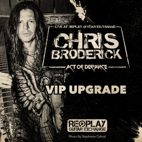 Chris Broderick VIP Meet and Greet