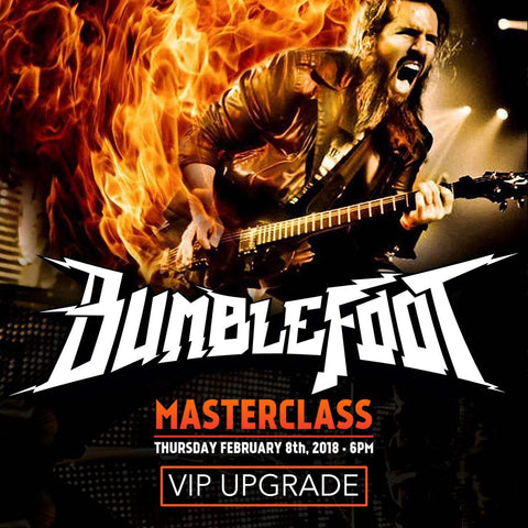 Bumblefoot VIP Meet and Greet