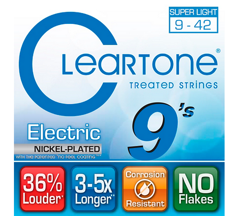 Cleartone Super Light Electric Guitar Strings