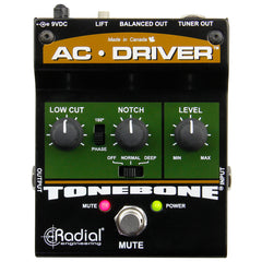 Radial AC-Driver Acoustic Instrument Preamp And Direct Box