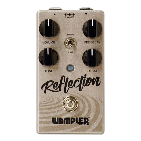 Wampler Reflection Reverb Pedal *Open Box*