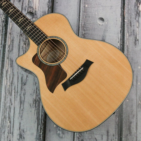 Used - Taylor 614ce left-handed acoustic electric guitar