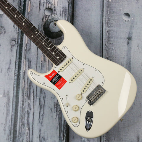 Fender Left hand American Professional Stratocaster - Olympic White