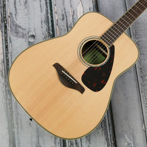 Yamaha FG830 acoustic guitar - Natural