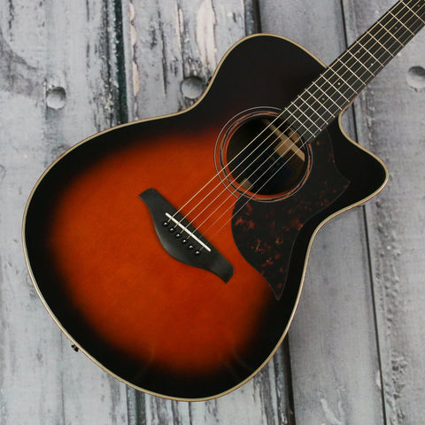 Yamaha AC3R acoustic guitar - tobacco brown sunburst