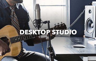 Recording Studio Equipment  - Desktop Studio