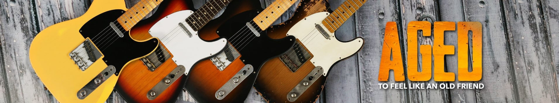 Replay Aged Guitars