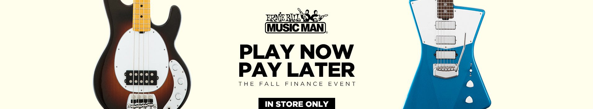 Replay Guitar Exchange Ernie Ball Finance Event
