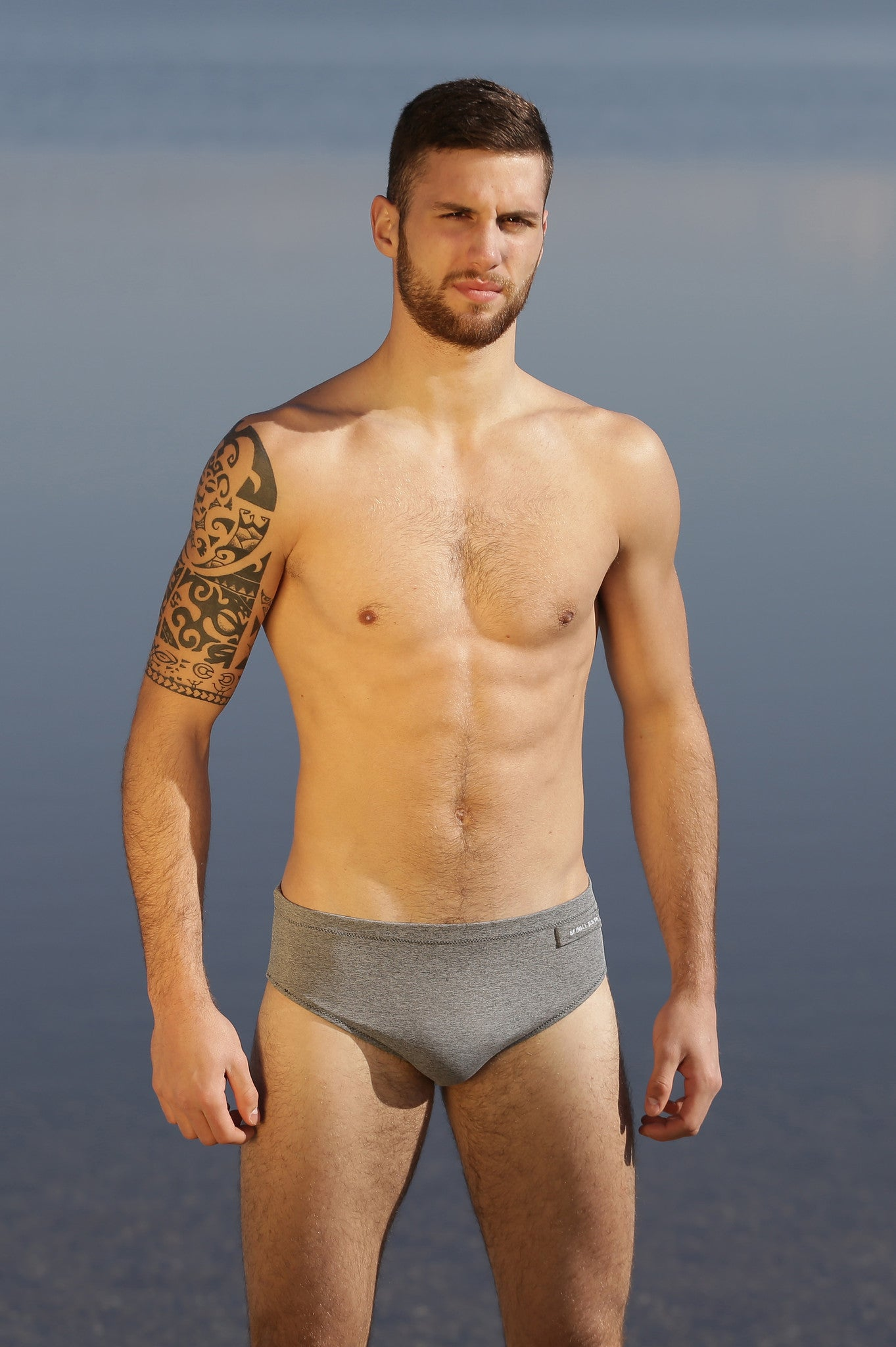 NEVIANO HOMME - H0116 GRIS CHINE - MADE IN FRANCE - avec capteur UV intégré