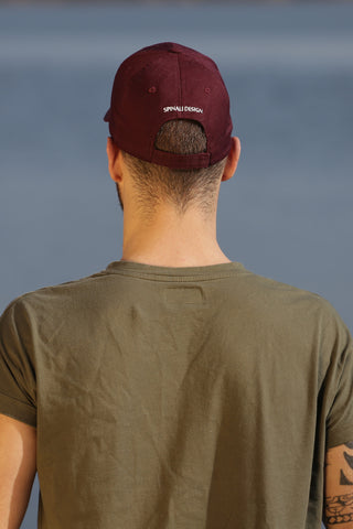 CASQUETTE HOMME BURGUNDY - MADE IN FRANCE