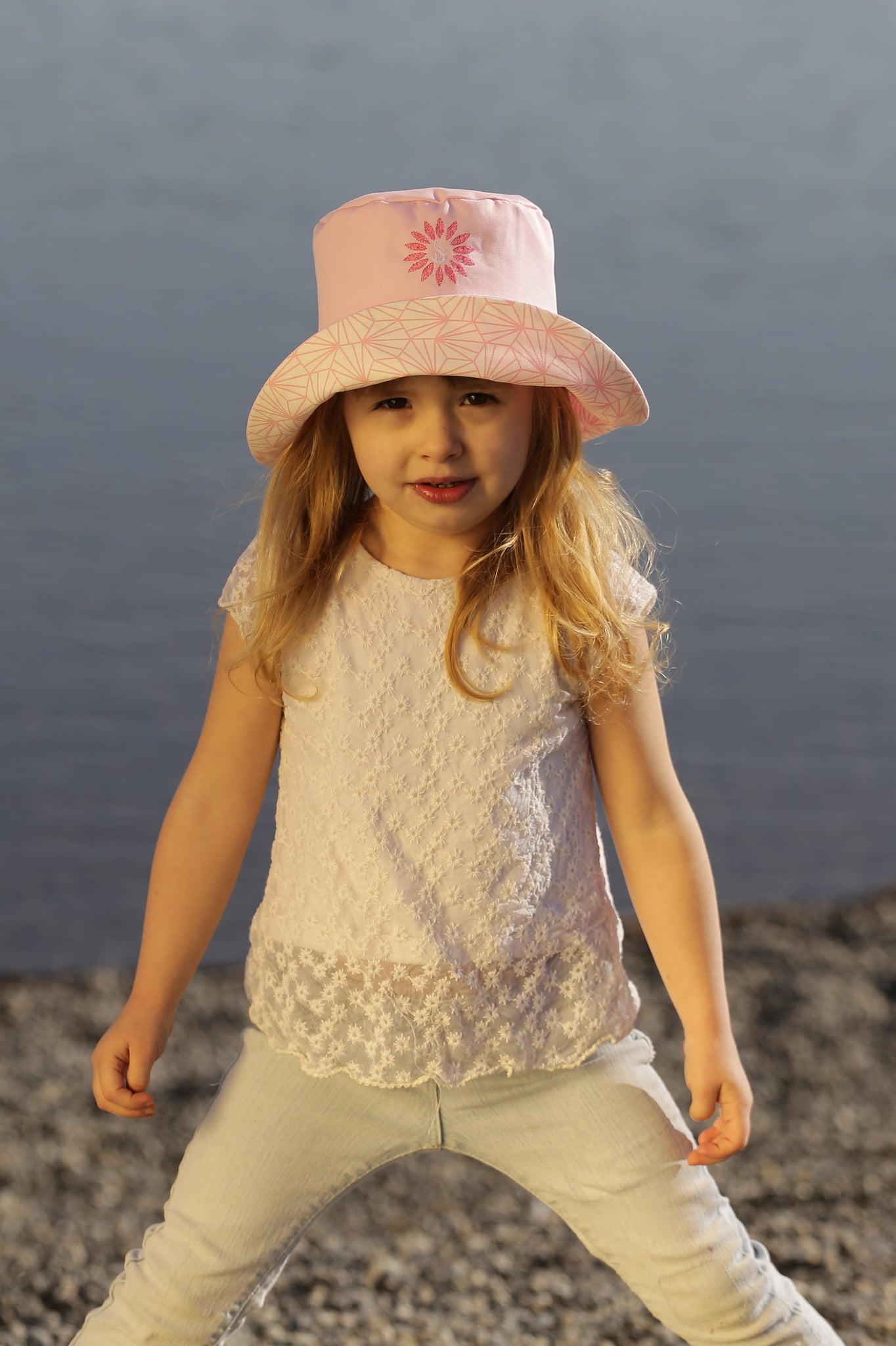 BOB BAMBINO ROSE POUDRE - MADE IN FRANCE