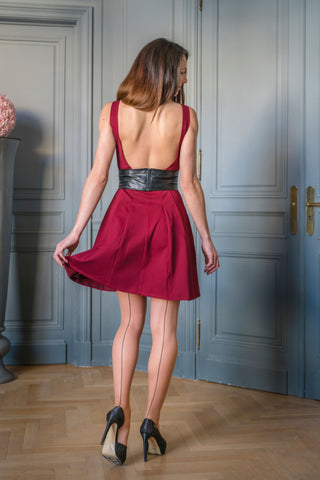 KLEID BELLE ROSE - MADE IN FRANCE - MIT INTEGRIERTEM SENSOR