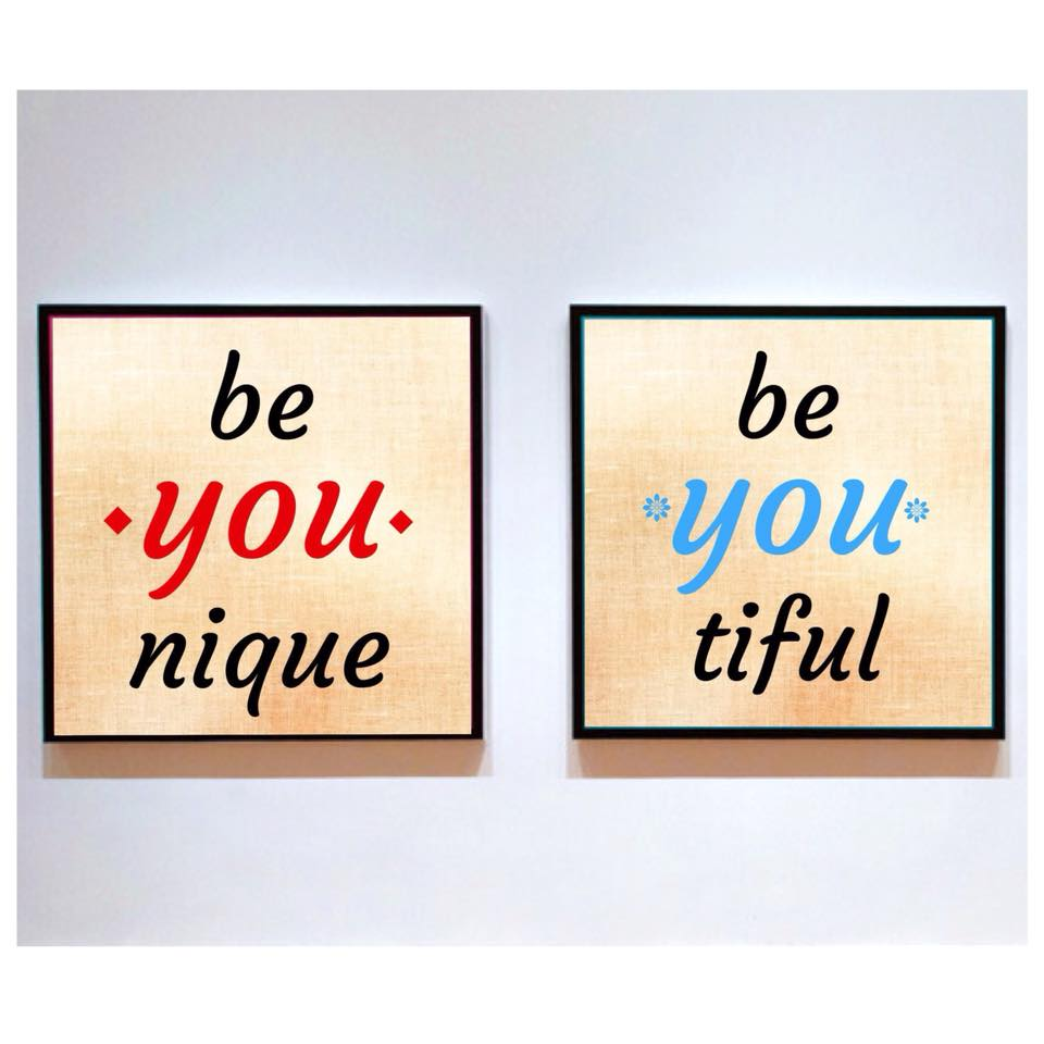 Be YOU Wall Art Gallery