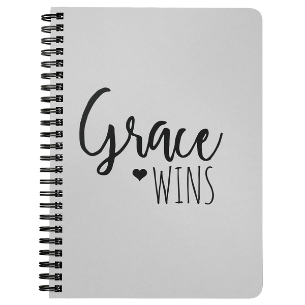 Grace Wins Notebook