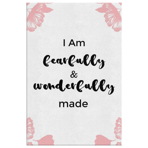 Fearfully Wonderfully Made Canvas