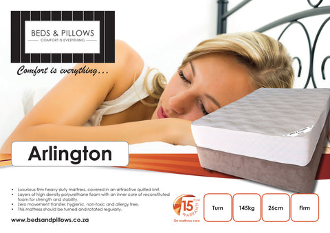 B&P Arlington Mattress - Beds & Pillows