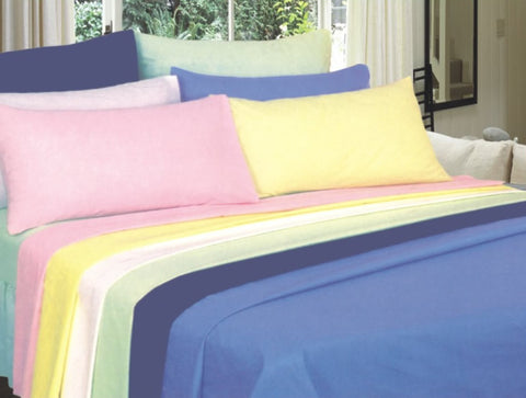TC144 Polycotton Linen - Beds & Pillows