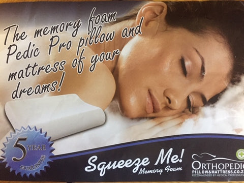 Orthopedic Memory Foam Pillows - Beds & Pillows