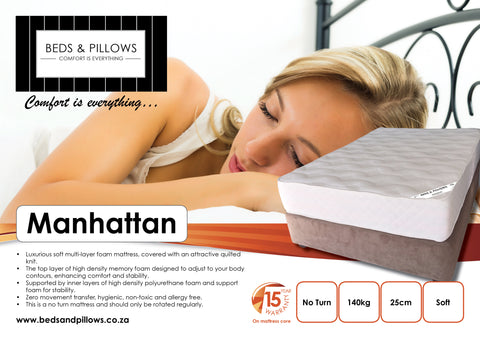 B&P Manhattan Bed - Beds & Pillows