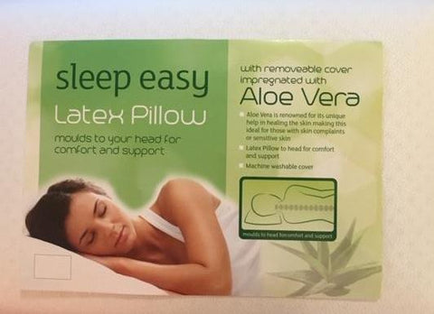 Natural Latex Pillow (Sleep Easy) - Beds & Pillows