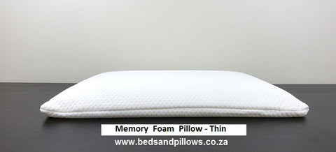 Memory Foam THIN Pillows
