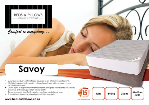 B&P Savoy Bed - Beds & Pillows