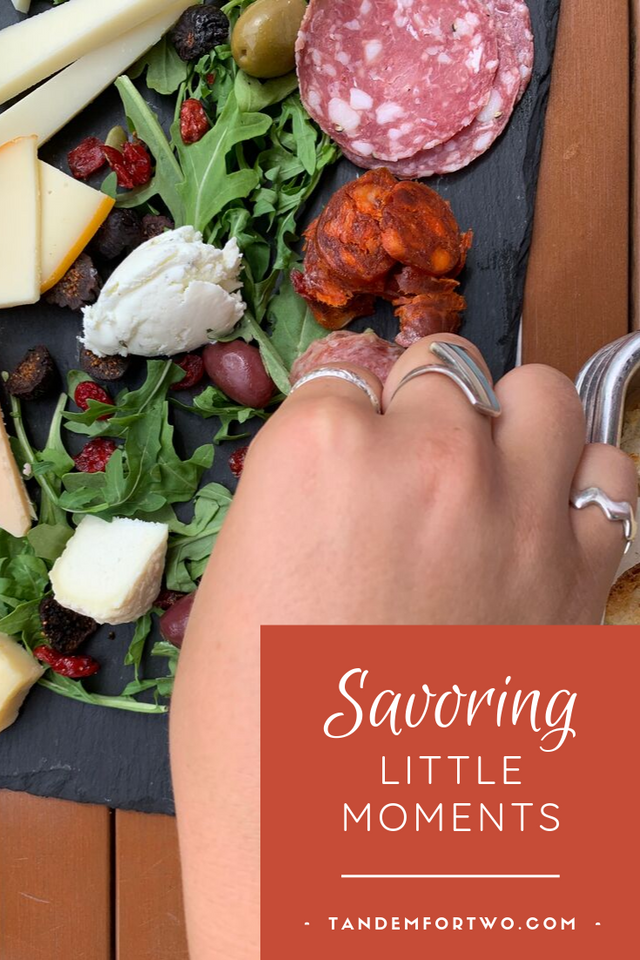 Savoring Little Moments - Tandem For Two