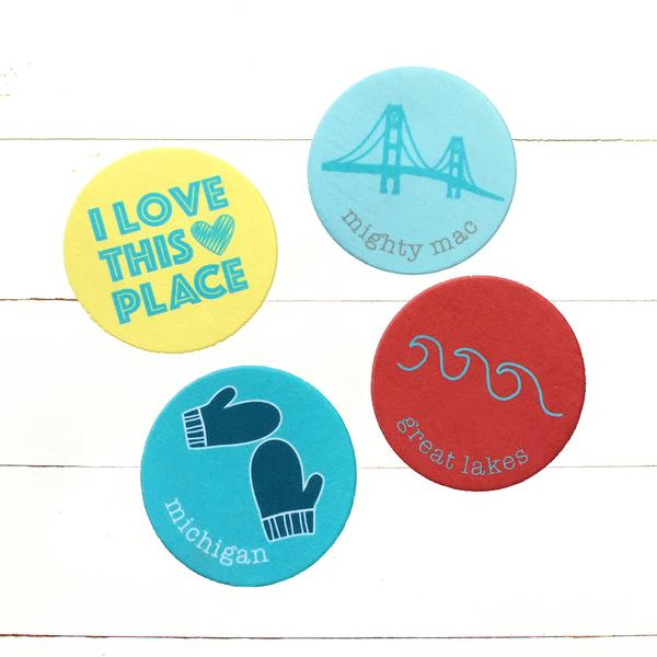 Michigan Coasters from Tandem For Two