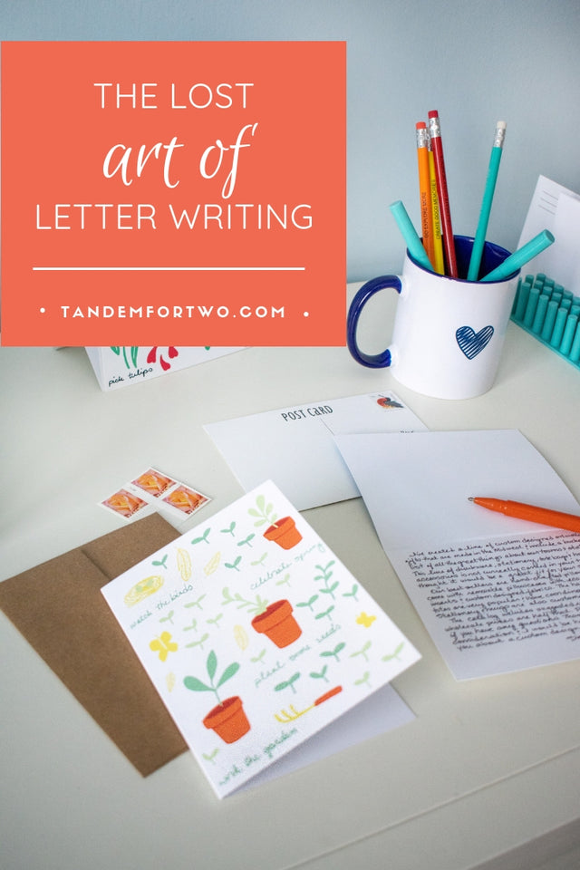 The Lost Art of Letter Writing - Tandem For Two