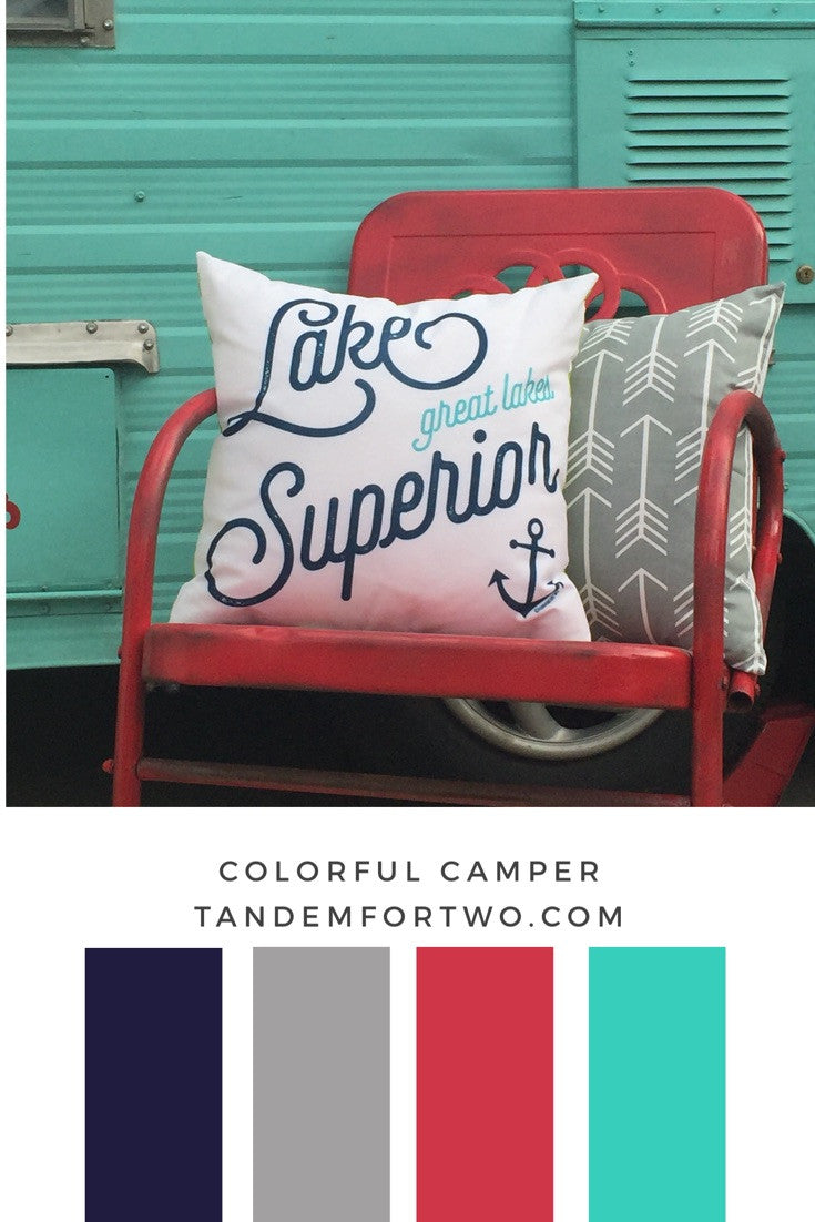 July Color Palettes from Tandem For Two