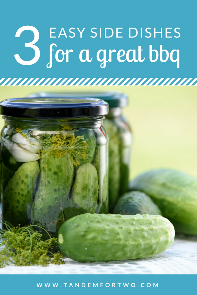 3 Easy Side Dishes for a Great BBQ