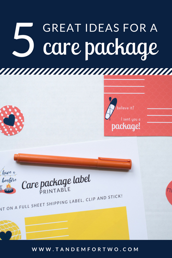 5 Great Care Package Ideas
