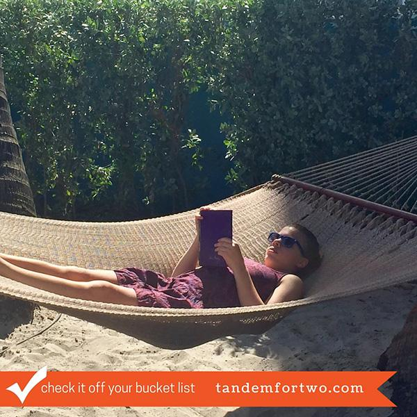 Check It Off Your Bucket List: Hammock, tandemfortwo.com