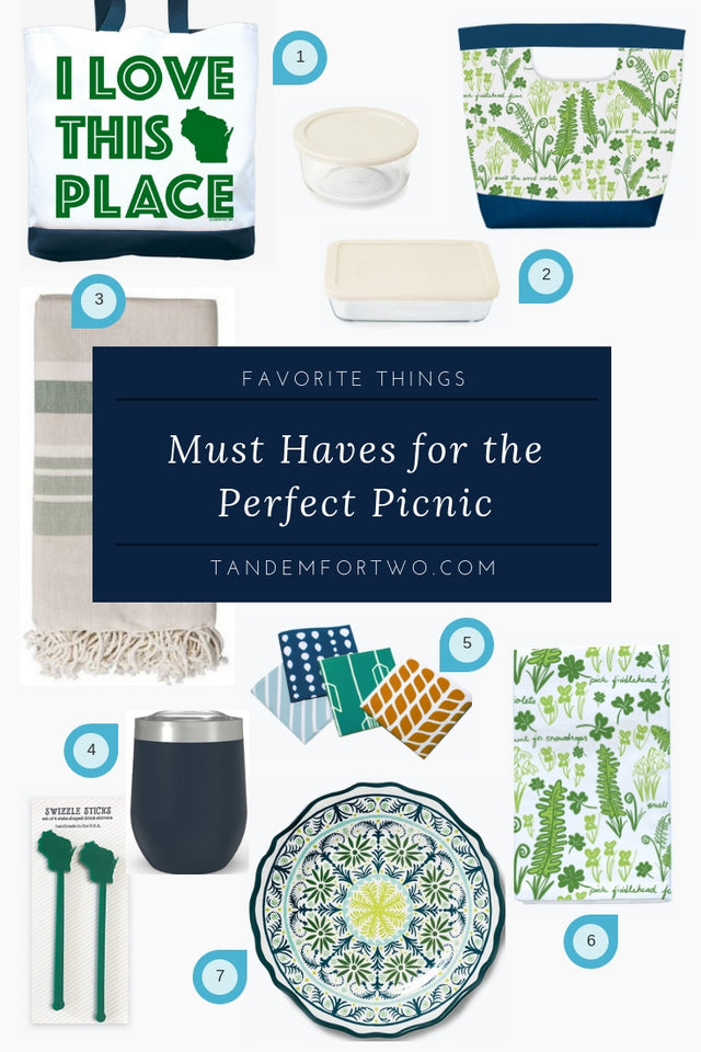 Must Haves for the Perfect Picnic - Tandem For Two