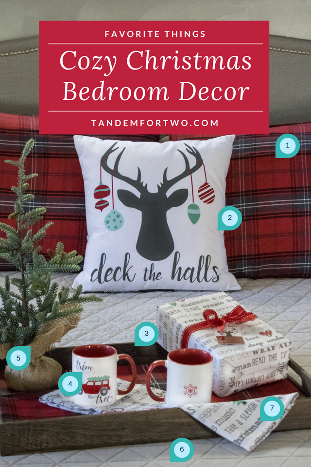 Cozy Christmas Bedroom Decor - Tandem For Two