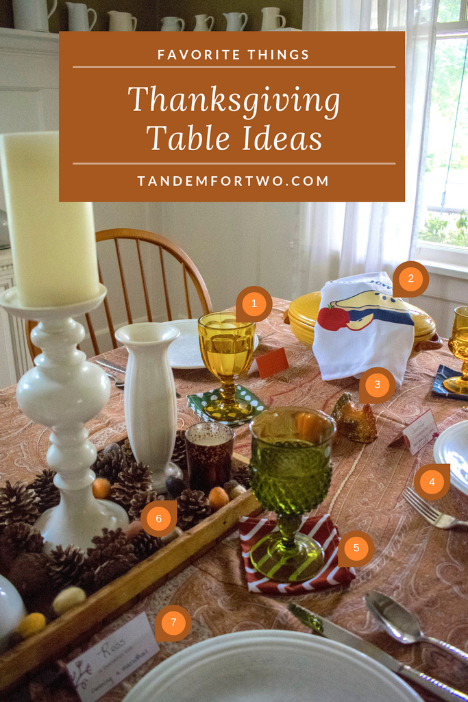 Favorite Things: Thanksgiving Table Ideas - Tandem For Two