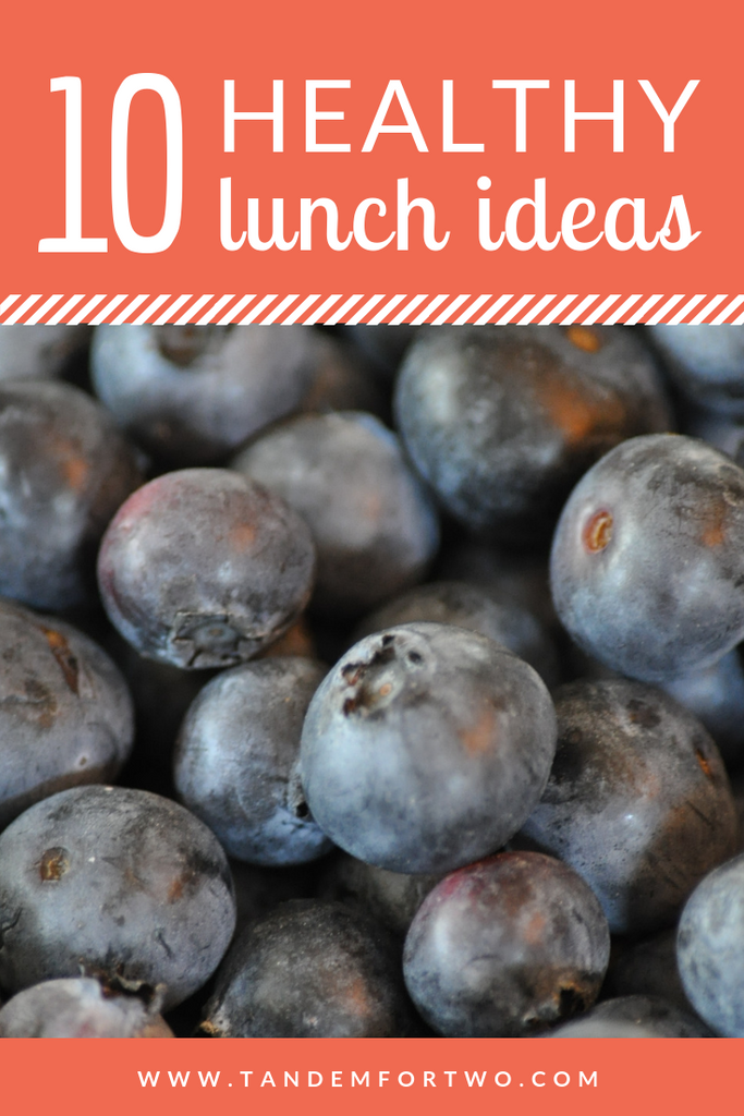 10 Healthy Lunch Ideas - tandemfortwo.com