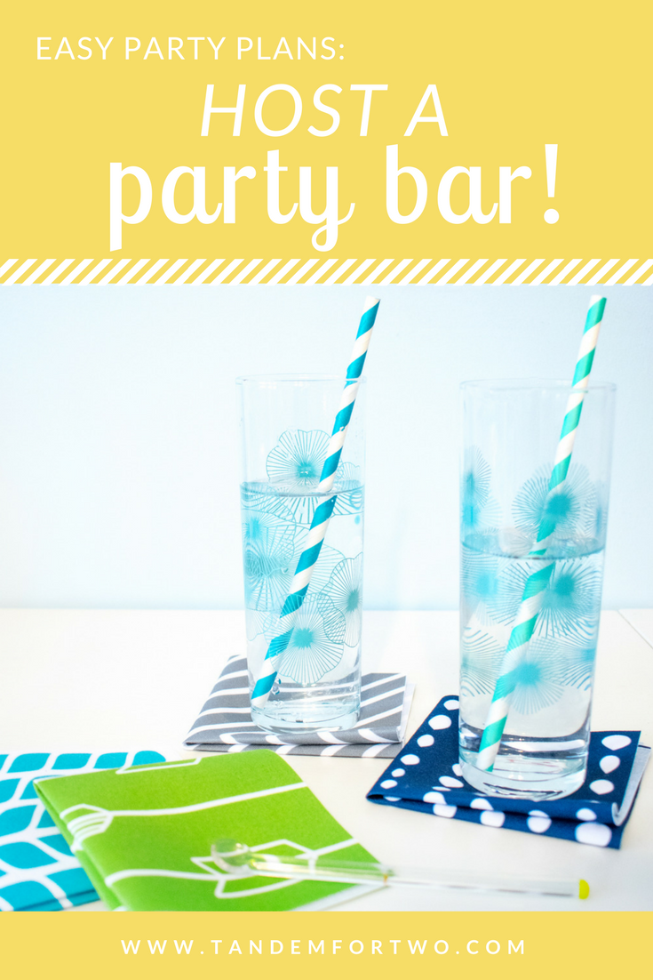 Easy Party Plans: Have a Party Bar!