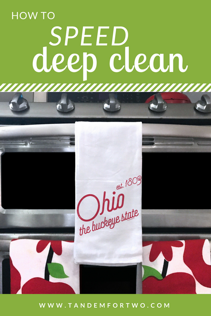 How to Speed Deep Clean Your Home This Spring!