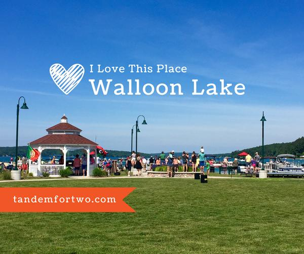 I Love This Place: Walloon Lake, Tandem For Two